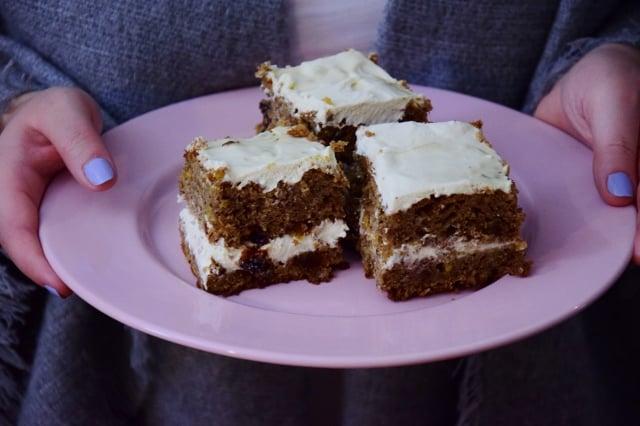 Ciasto Marchewkowe Z Kremem Zdrowe Pysznosci Thermomania