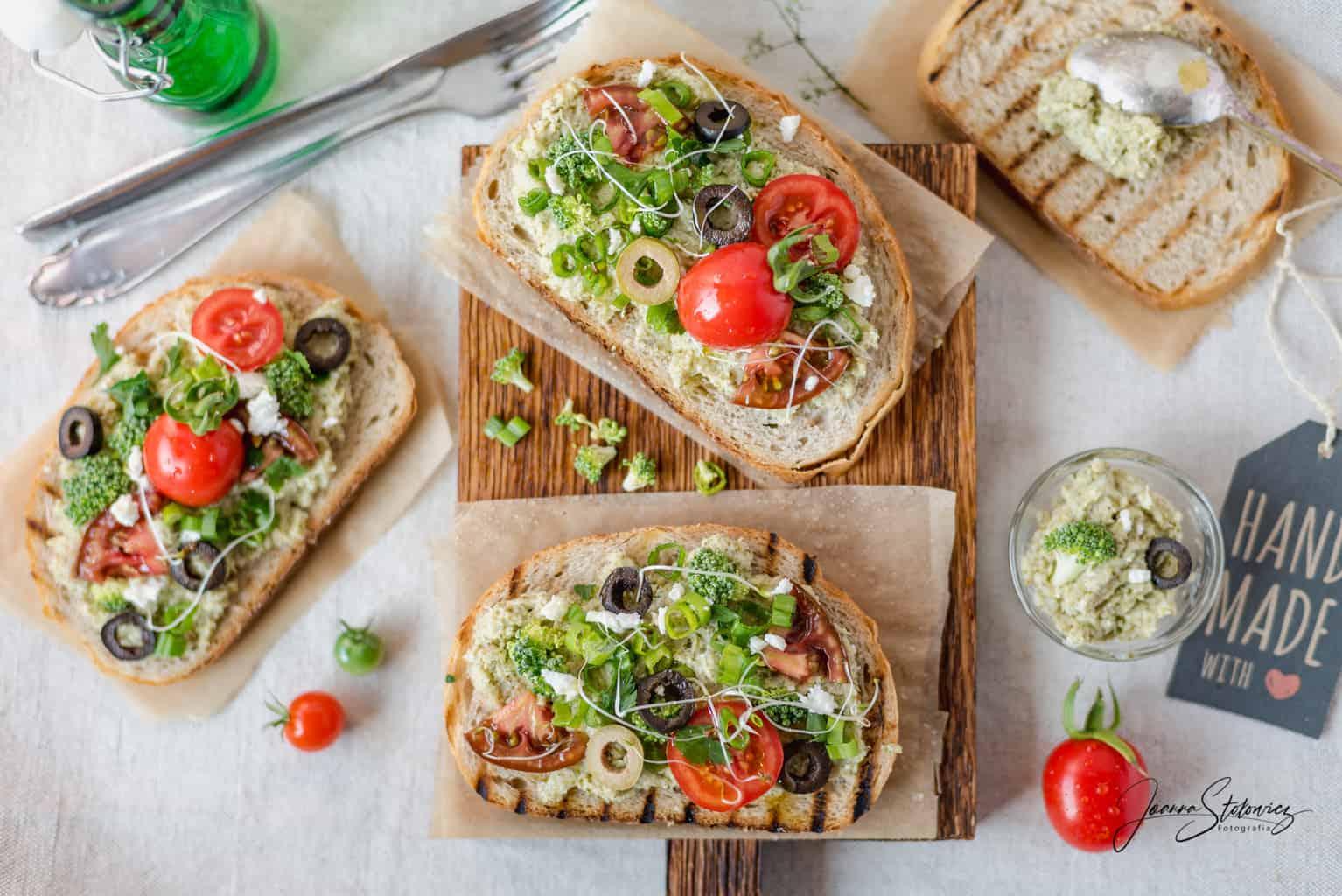 Pasta Z Brokulow I Sera Feta Dietetyczne Smarowidlo Thermomania