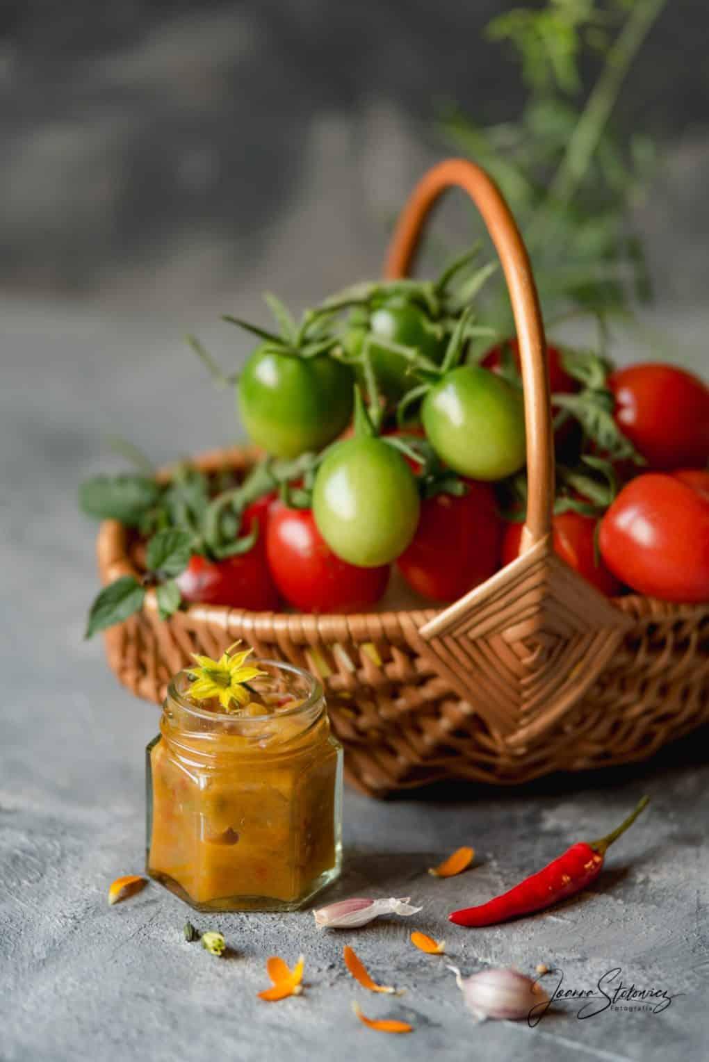 Sos z zielonych pomidorów i papryki Thermomania