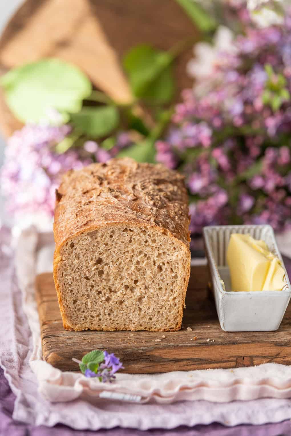 Chleb żytni na zakwasie orkiszowym