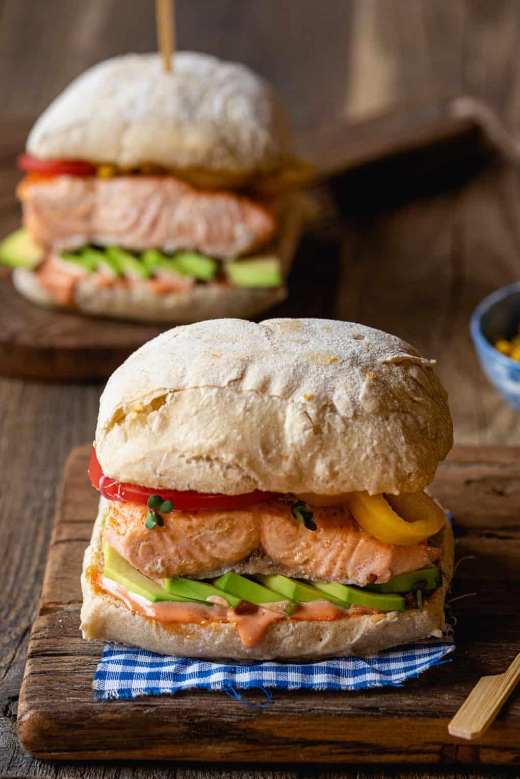 Domowy fishburger