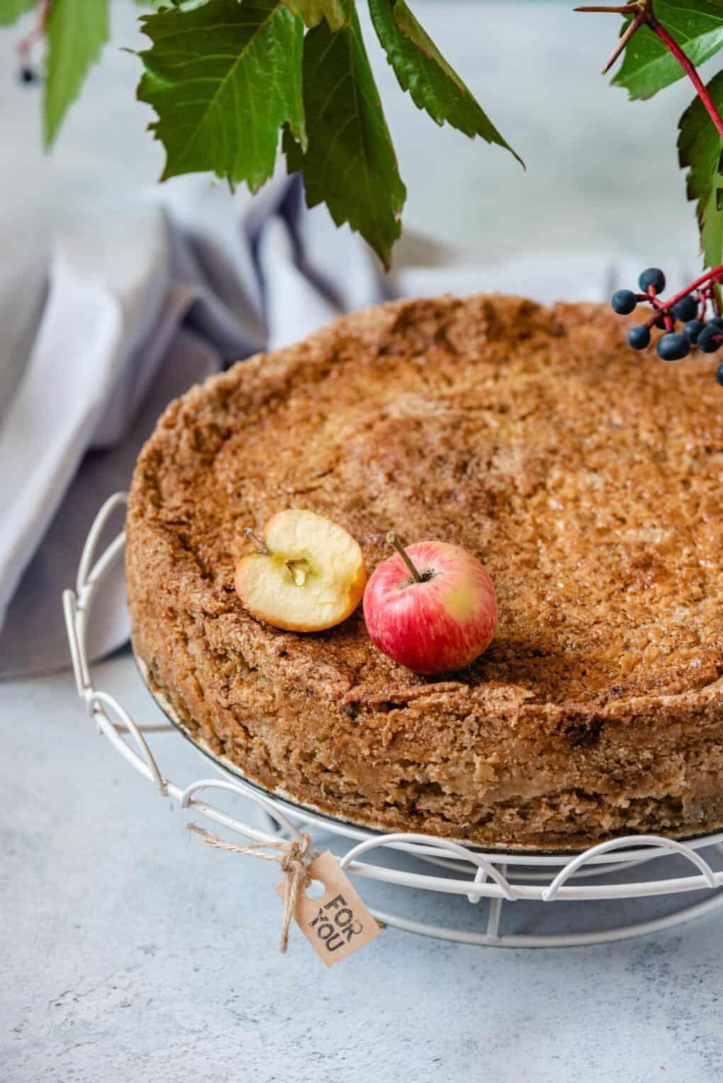 Szarlotka sypana - magiczne ciasto